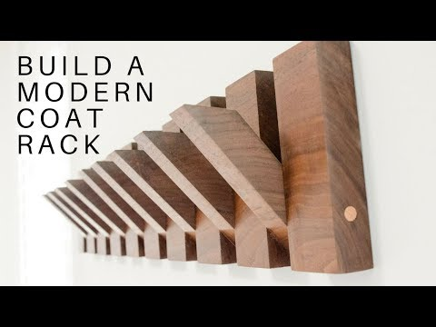 How to build a Modern Coat Rack