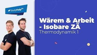 Wärme und Arbeit bei isothermen Zustandsänderungen - geschlossenes ...