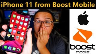 Got an Apple iPhone 11 from Boost Mobile With BoostUp!