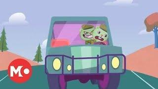 Happy Tree Friends, Психованный автомобилист 1