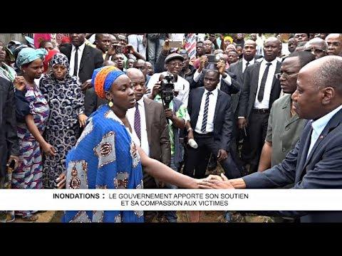 INONDATIONS : LE GOUVERNEMENT APPORTE SON SOUTIEN ET SA COMPASSION AUX VICTIMES
