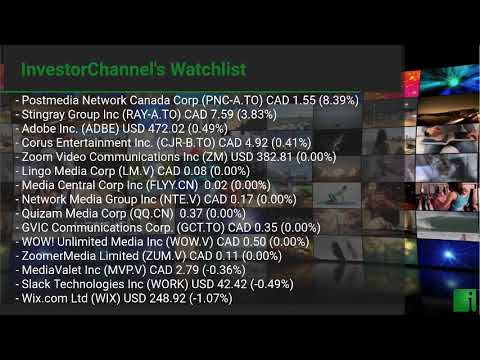 InvestorChannel's Media Watchlist Update for Thursday, Jan ... Thumbnail