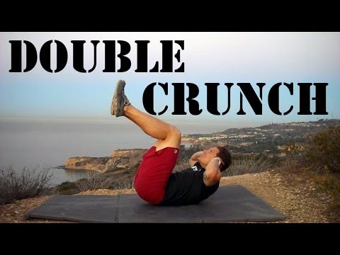 Double Crunch Ab Exercise