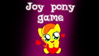 Joy Pony game - trailer
