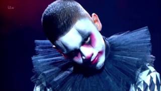 TNG Clown Dancers SCARE the HELL Out of Simon | Semi-finals | Britain's Got Talent 2017