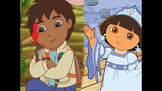 Dora The Explorer | Go diego Go | Full episodes about 2 hours
