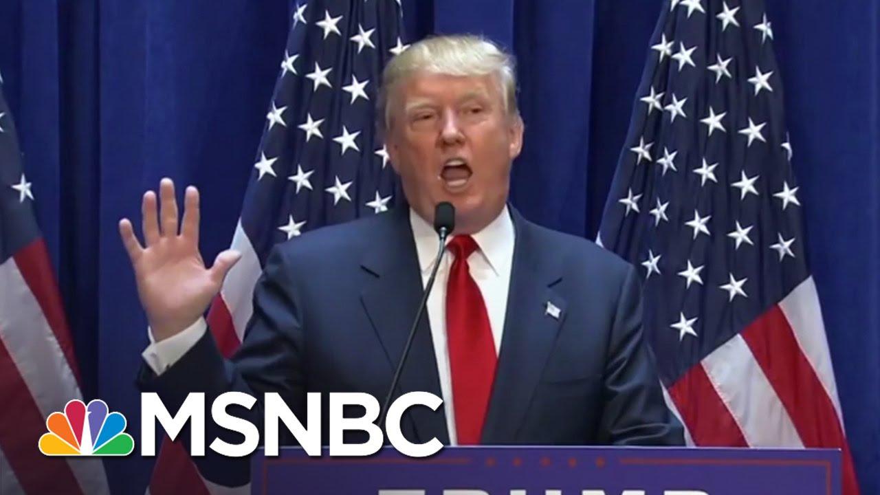 Donald Trump Loves A Good Disaster | MSNBC thumbnail