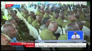 KTN Prime: President Uhuru Kenyatta consoles with families of GSU officers that died in Naivasha
