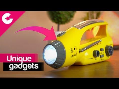 A Unique Travel Gadget - Multipurpose Flashlight !!