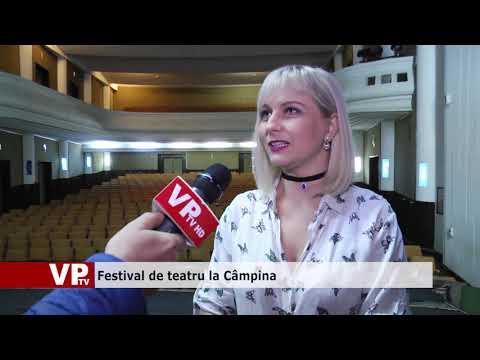 Festival de teatru la Câmpina