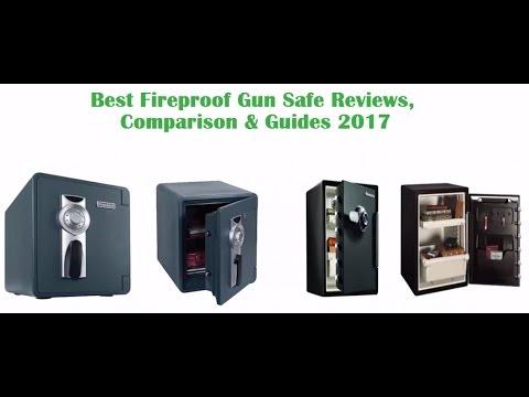 best fireproof gun safe reviews 2017