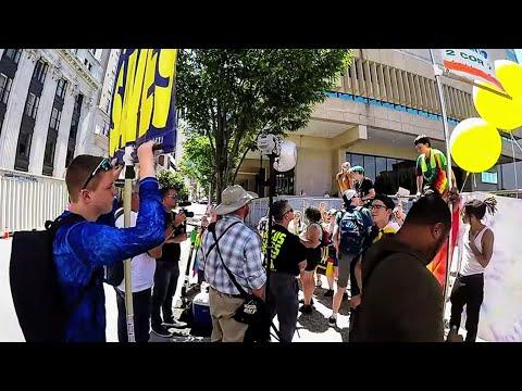 "Nashville ""Pride""/Shame 2019 Bible Preaching & Sin Rebuke | Nashville TN (Part #7)"