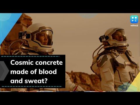 Krv, suze i znoj za stvaranje kosmičkog betona (VIDEO)