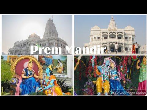 Prem Mandir Vrindavan Best Place To Visit In Agra Mathura