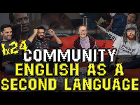 Community - 1x24 English as a Second Language - Group Reaction