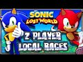 Sonic Lost World Wii U -  (1080p) 2 Player Local Races