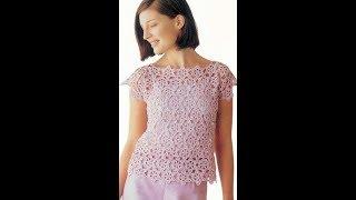 Вязание Женских Ажурных Кофточек Крючком - модели 2018 / Knitting of Women