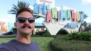Disney Worlds Art Of Animation Resort | Hotel Grounds Walking Tour, Pools & Food Locations!
