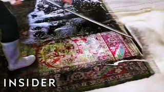 How The Dirtiest Rugs Get Professionally Cleaned
