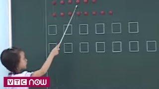 Hoang mang học tiếng Việt qua hình tròn, vuông