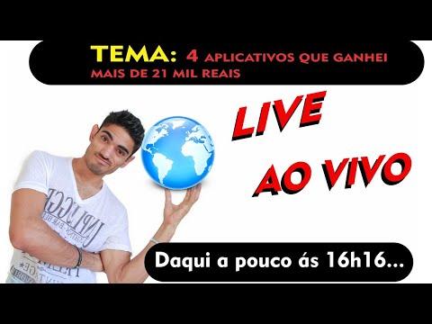 4ª LIVE TEMA: APLICATIVOS QUE GANHEI MAIS DE 21 MIL REAIS