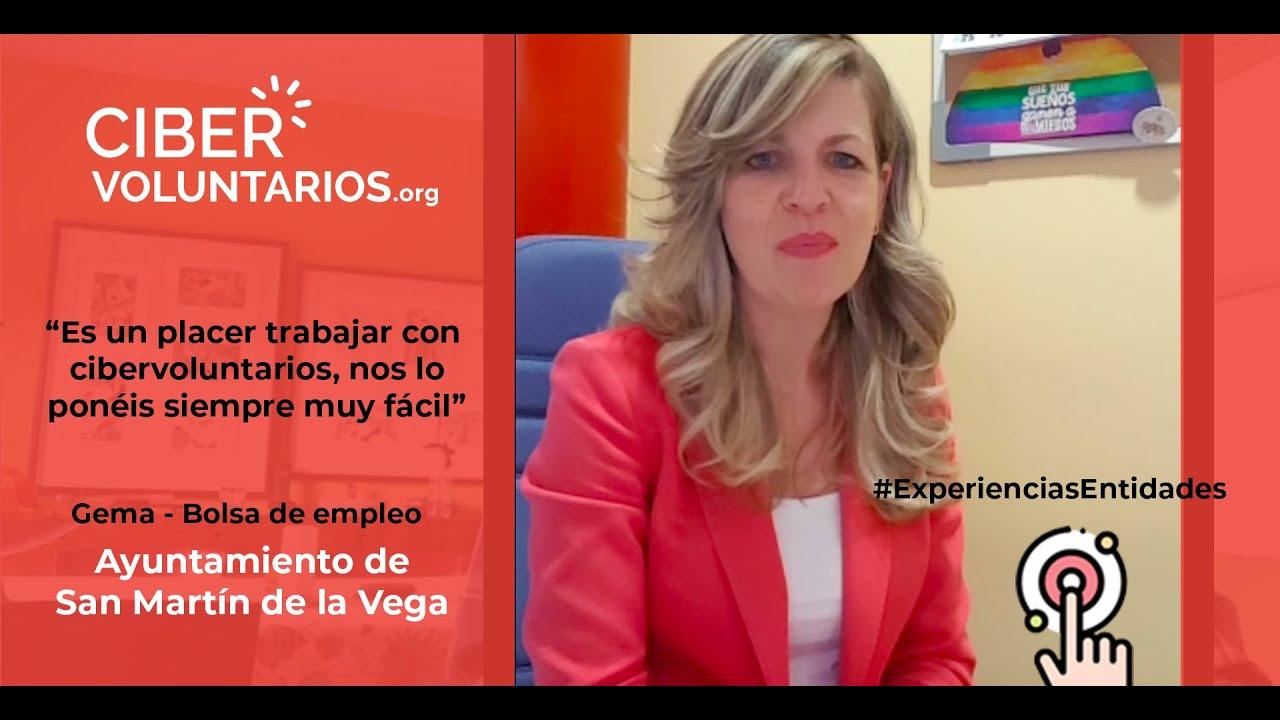 Gema del Ayto de San Martín de la Vega cuena su experiencia con nuestros talleres Online
