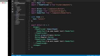 React Styled Components Tutorial