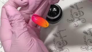 Картинка для видео 'Гель-краска «Паучок». Как работать с гель-краской паучок или паутинка.'