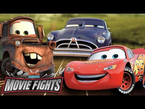 Who Is The Best Car from Cars?? - MOVIE FIGHTS!!