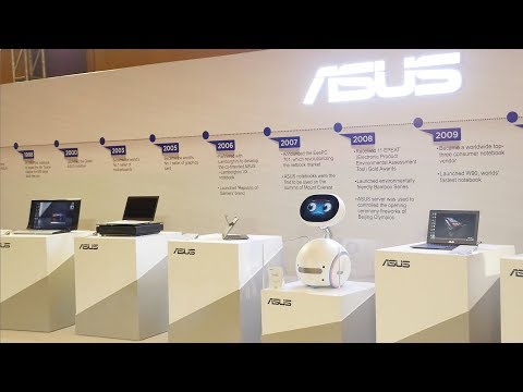 High End Computers, Laptops & Gear From Asus via India Event