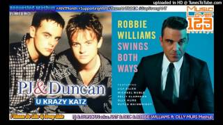 I Wanna Be Like U, Krazy Katz - PJ & Duncan a.k.a Ant & Dec & Robbie Williams ft. Olly Murs Mashup