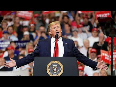 Ξανά στη μάχη για την προεδρία ο Τραμπ