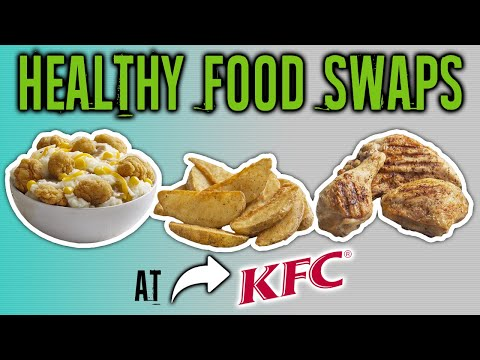 KFC Nutrition - Calories In KFC Food - Healthy Options #LLTV
