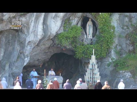 Messe de 10h à Lourdes du 19 avril 2021
