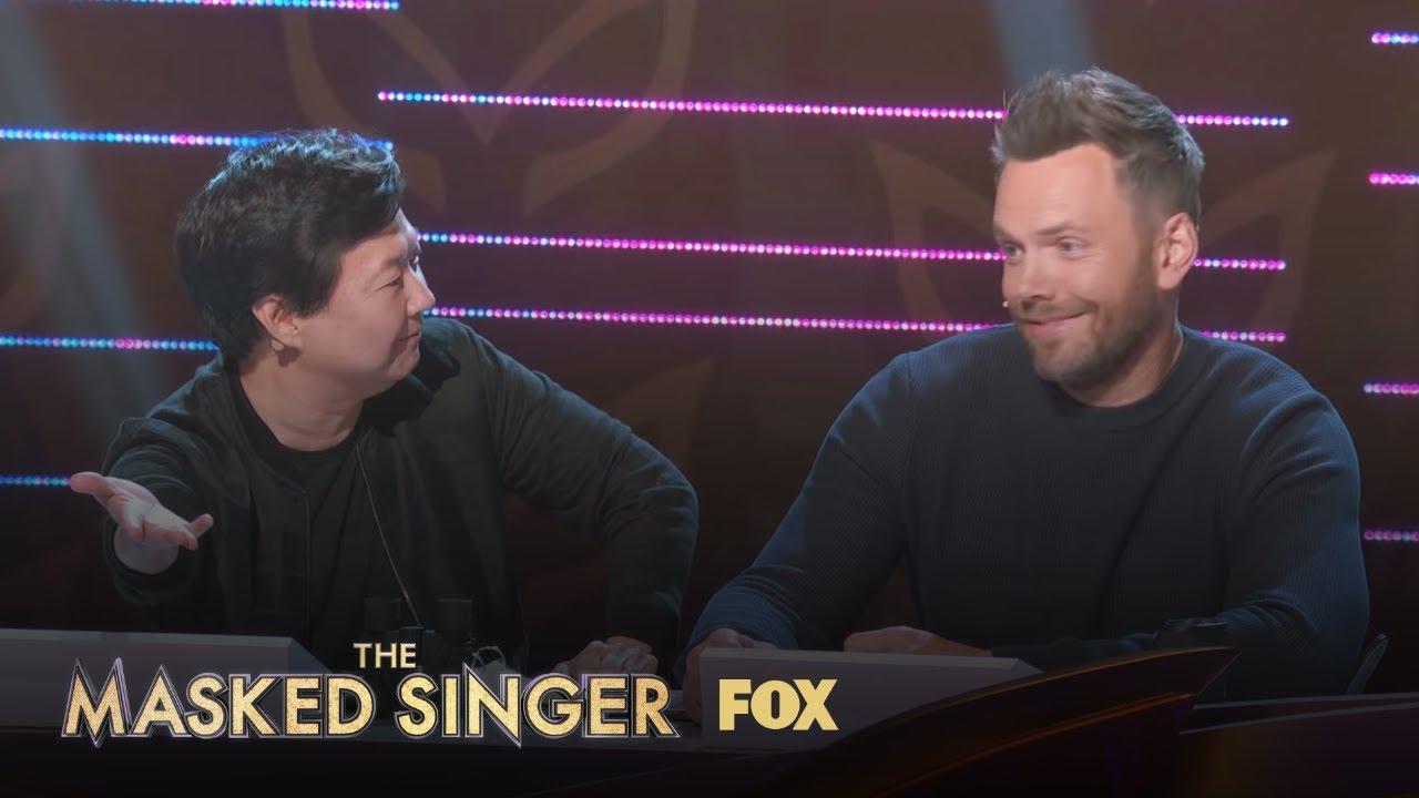 Ken & Joel React To The Lion | Season 1 Ep. 3 | THE MASKED SINGER