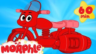 My Red Motorcycle +1 Hour My Magic Pet Morphle Episodes With Motorbikes And Vehicles