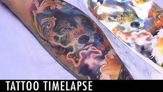Tattoo TImelapse - Jared Archuleta