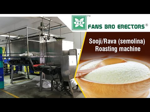 Fansbro Sooji Roasting Machine