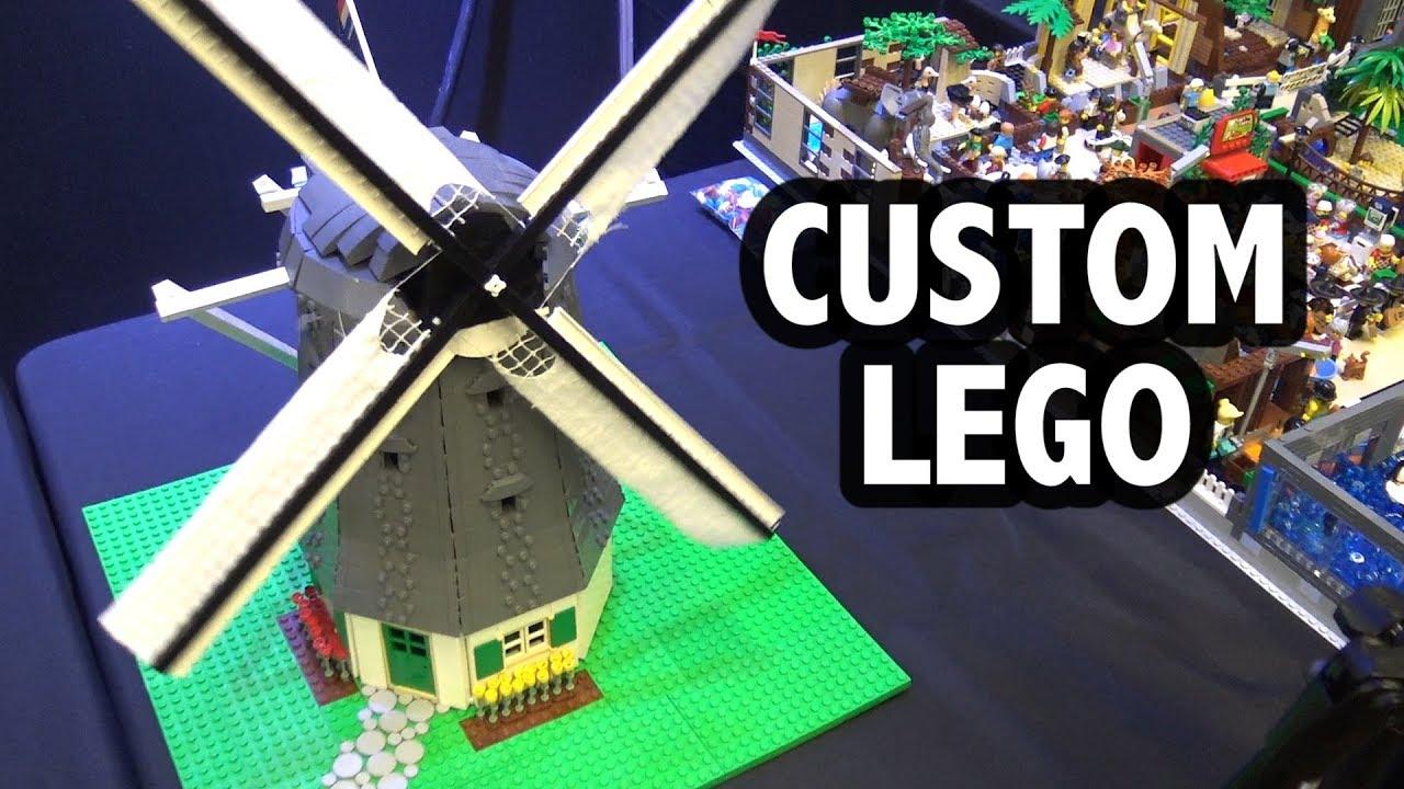 Traditional Dutch Windmill in LEGO | Brick Fiesta 2019