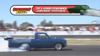 James Horan - Twin Turbo Hilux Ute Powerskid Powercruise 31