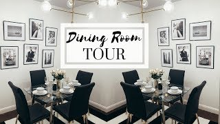 NYC APARTMENT TOUR - THE DINING ROOM | Dining Room Decorating Ideas - Video Youtube