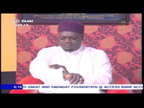 QUESTION & ANSWER (SERIES 2) -  (Hon.) Dr Abdul Hakeem Abdul Lateef