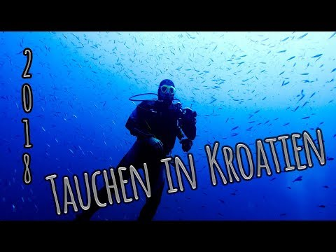 Tauchen in Kroatien 2018 / diving croatia