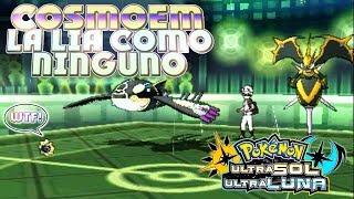 Cosmoem  - (Pokémon) - COSMOEM Y SU CURIOSA ESTRATEGIA SIN MOVIMIENTOS OFENSIVOS CONTRA EQUIPOS DE POKÉMON LEGENDARIOS!