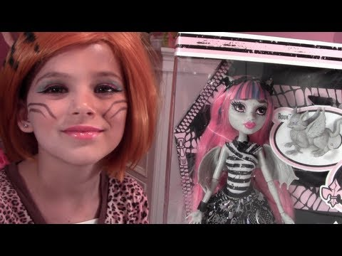 Rochelle Goyle Monster High Doll Toy Review