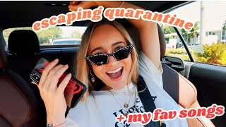 drive with me & listen to my current playlist!