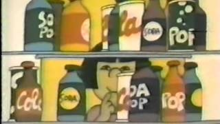 VINTAGE 80'S PSA ABOUT DRINKING WATER INSTEAD OF SODA