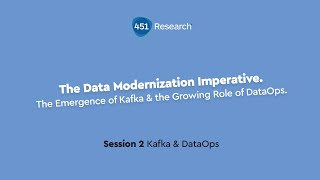 The Emergence of Kafka & the Growing Role of DataOps - Session 2