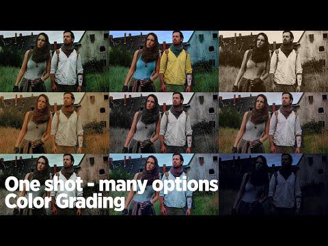 One shot - many options. 10 Looks für ein Bild.