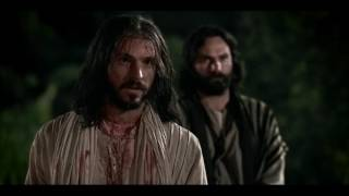 Jesus Christ being betrayed by Judas and arrested